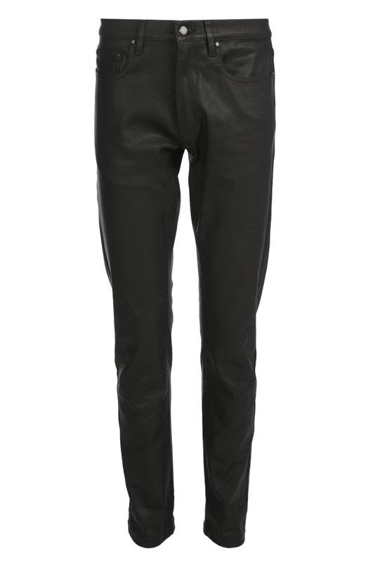 Джинсы BelstaffДжинсы<br>Для создания джинсов regular fit креативный директор бренда выбрал черный хлопок. Мастер бренда нанесли на материал восковое покрытие, чтобы добавиться имитации фактуры кожи. Нам нравится сочетать с черным свитером, красной кожаной курткой и ботинками челси.<br><br>Российский размер RU: 46<br>Пол: Мужской<br>Возраст: Взрослый<br>Размер производителя vendor: 30<br>Материал: Хлопок: 97%; Эластан: 3%;<br>Цвет: Черный