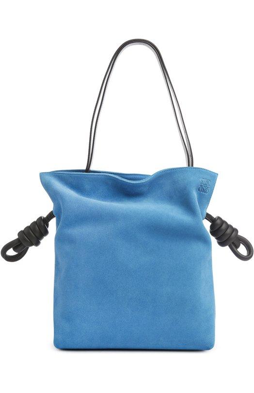 Замшевая сумка Flamenco Knot Loewe 334.61FK63