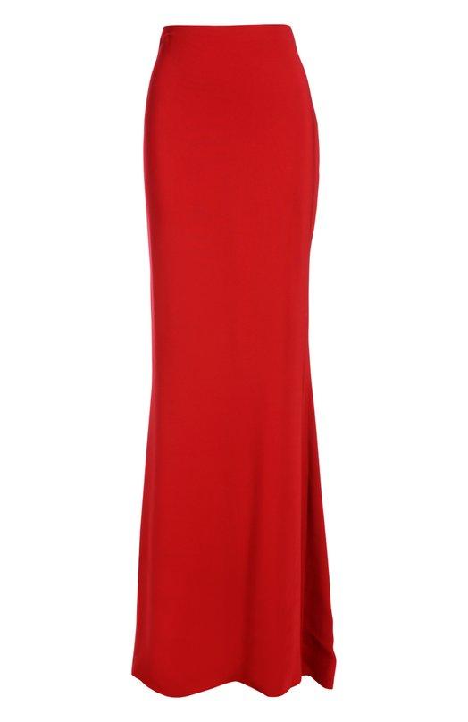 Вечерняя юбка LanvinЮбки<br>В осенне-зимнюю коллекцию бренда, основанного Жанной Ланван, вошла вечерняя юбка в пол. Облегающая модель с молнией сзади сшита из эластичного текстиля красного цвета. Наши стилисты рекомендуют носить с черным топом, туфлями-лодочками и массивными украшениями.<br><br>Российский размер RU: 42<br>Пол: Женский<br>Возраст: Взрослый<br>Размер производителя vendor: 36<br>Материал: Вискоза: 97%; Эластан: 3%;<br>Цвет: Красный