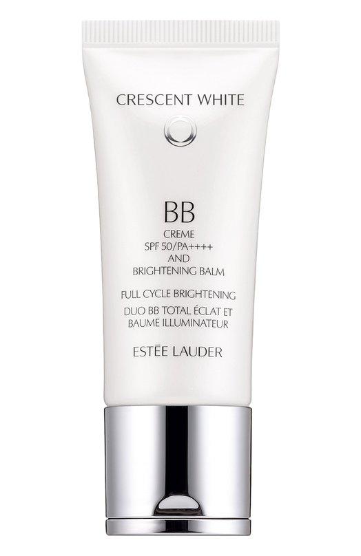 BB-крем c SPF 50 и осветляющий бальзам Est?e LauderBB/CC/DD кремы<br>Легкий ВВ-крем выравнивает тон лица, скрывает покраснения и несовершенства. SPF50 защищает кожу от вредного воздействия УФ-лучей и помогает предотвратить ее повреждения. Особые компоненты восстанавливают кожу, высветляют пигментные пятна, придают ей сияние и здоровый вид.<br><br>Объем мл: 30<br>Пол: Женский<br>Возраст: Взрослый<br>Цвет: Бесцветный