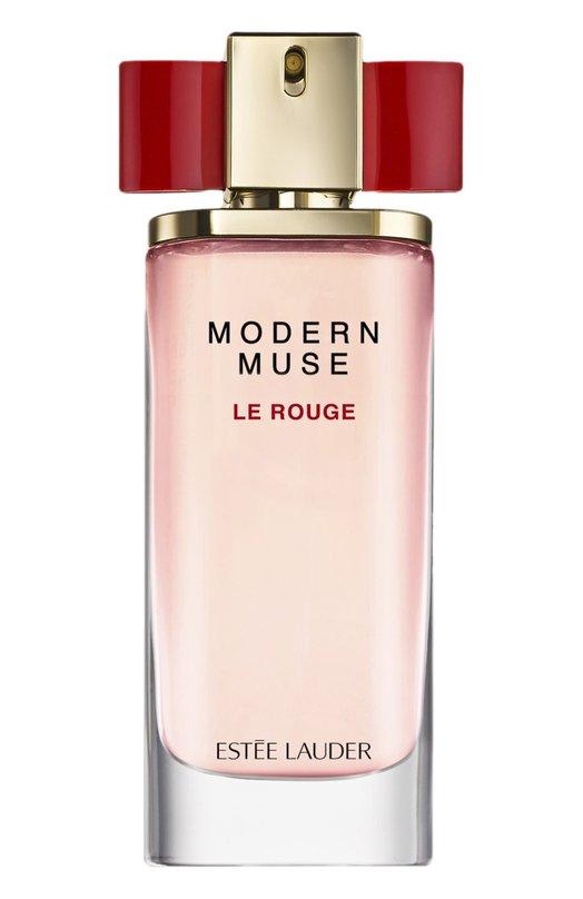 Парфюмерная вода-спрей Modern Muse Le Rouge Est?e LauderАроматы для женщин<br>Modern Muse Le Rouge обладает чувственной восточно-цветочной композицией, состоящей из нот болгарской розы, розовой смородины, малины, пачули, магнолии, шафрана, ванили и розового перца. Такое сочетание раскрывается на коже невероятно ярким и женственным ароматом.<br><br>Объем мл: 50<br>Пол: Женский<br>Возраст: Взрослый<br>Цвет: Бесцветный