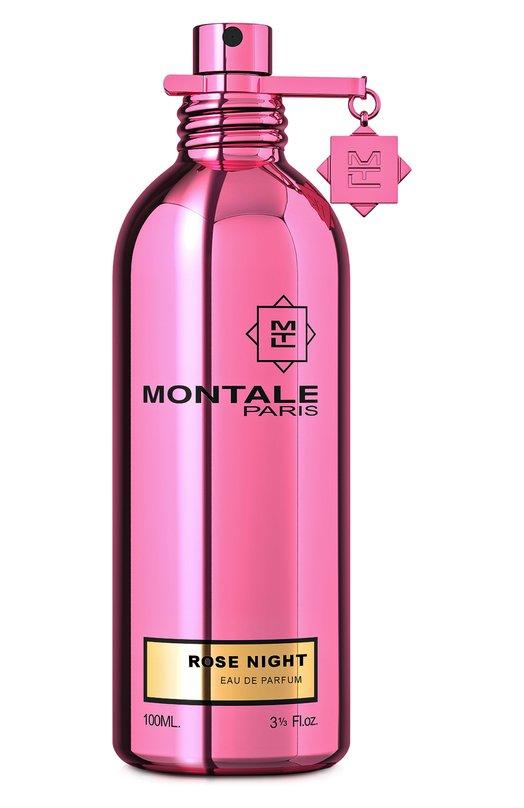 Парфюмерная вода Rose Night MontaleАроматы для женщин<br><br><br>Объем мл: 100<br>Пол: Женский<br>Возраст: Взрослый<br>Цвет: Бесцветный