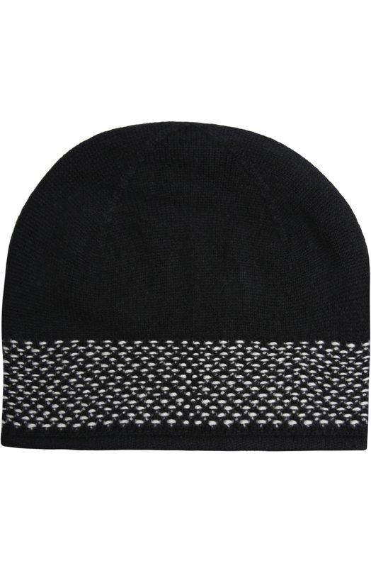 Кашемировая шапка тонкой вязки Johnstons Of Elgin HAY01736