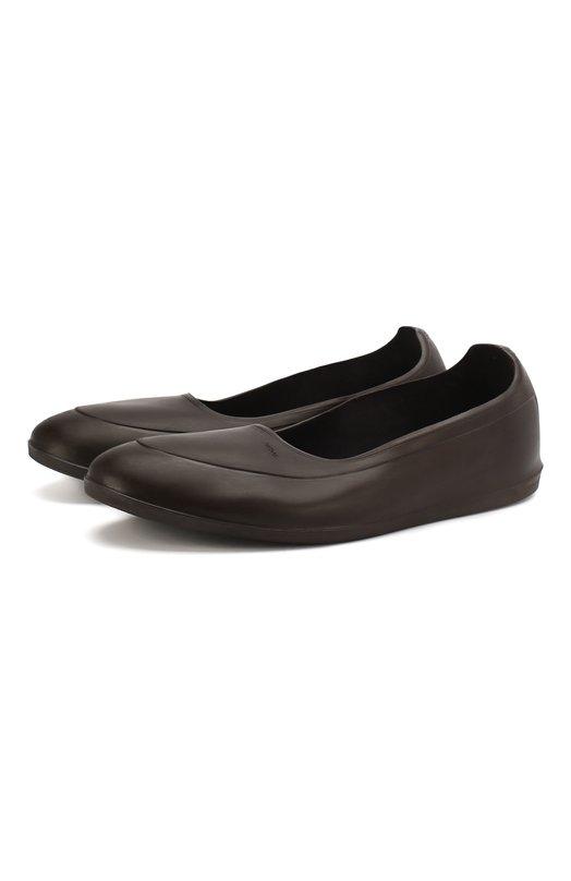 Галоши SwimsГалоши<br>Резиновые галоши из коллекции сезона осень-зима 2016 года защитят кожаные туфли грязи, дождя или снега. Благодаря текстильной подкладке их легко надевать и снимать. Фактурный узор на подошве защищает от скольжения на гладкой и мокрой поверхности.<br><br>Российский размер RU: 44<br>Пол: Мужской<br>Возраст: Взрослый<br>Размер производителя vendor: 44-46<br>Цвет: Коричневый