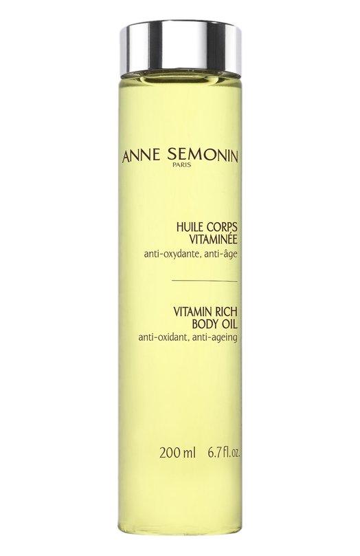 Масло для тела, обогащенное витаминами Anne Semonin 3700084611365