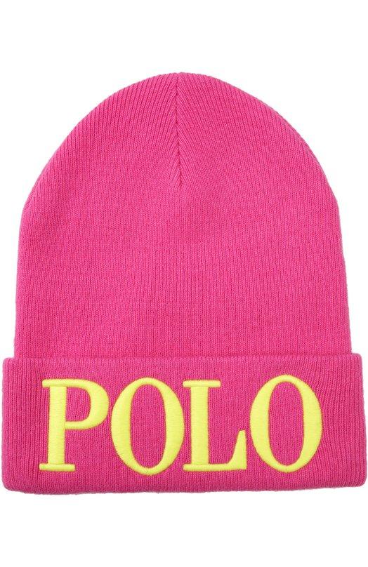 Шапка с вышитым логотипом Polo Ralph Lauren V82/ID700/BD700