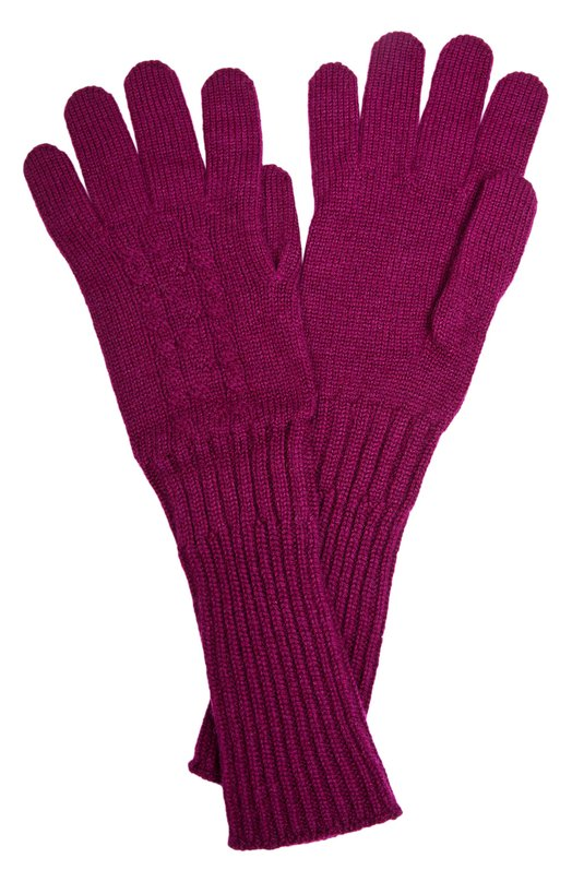 Перчатки Johnstons Of ElginПерчатки<br><br><br>Пол: Женский<br>Возраст: Взрослый<br>Размер производителя vendor: NS<br>Материал: Кашемир: 100%;<br>Цвет: Бордовый