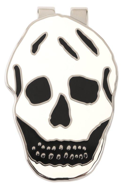 Зажим для денег в виде черепа Alexander McQueen 298691/J163N