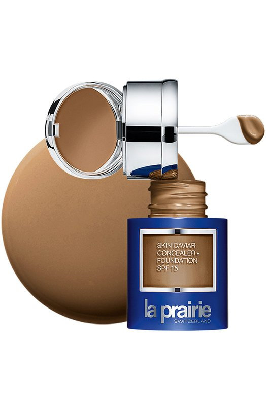Тональный крем и корректор с экстрактом икры SPF 15 Caramel Beige La PrairieТональные средства<br><br><br>Объем мл: 30<br>Пол: Женский<br>Возраст: Взрослый<br>Цвет: Бесцветный