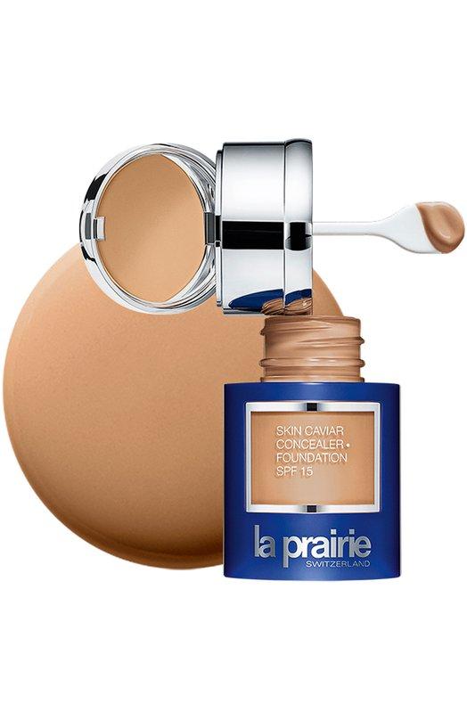 Купить Тональный крем и корректор с экстрактом икры SPF 15 Golden Beige La Prairie, 7611773052726, Италия, Бесцветный