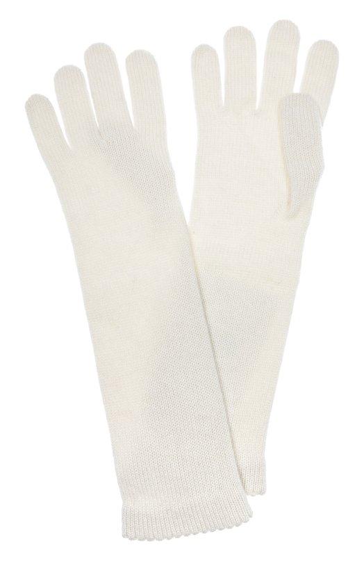 Удлиненные перчатки из кашемира Inverni Италия 5005006 3078GU  - купить со скидкой