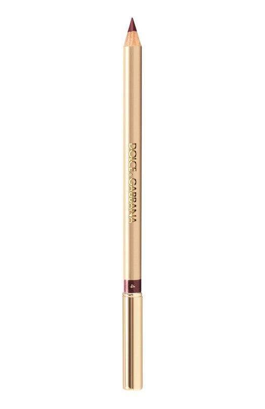 Карандаш для губ Precision Lipliner 04 Dahlia Dolce &amp; GabbanaКарандаши для губ<br><br><br>Объем мл: 0<br>Пол: Женский<br>Возраст: Взрослый<br>Цвет: Бесцветный