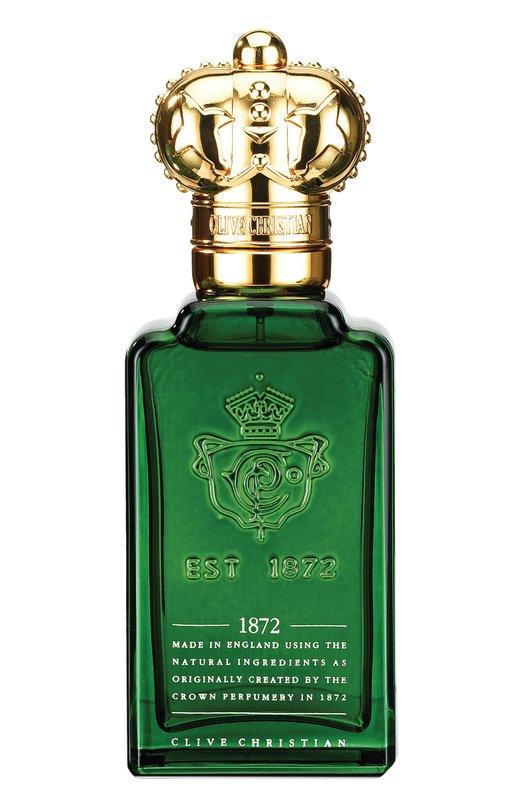 Парфюмерная вода 1872 for Men Clive ChristianАроматы для мужчин<br><br><br>Объем мл: 50<br>Пол: Женский<br>Возраст: Взрослый<br>Цвет: Бесцветный