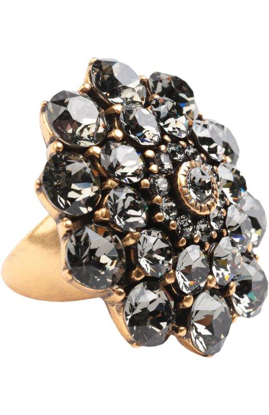 Кольцо с кристаллами Oscar de la Renta 0J413BLD