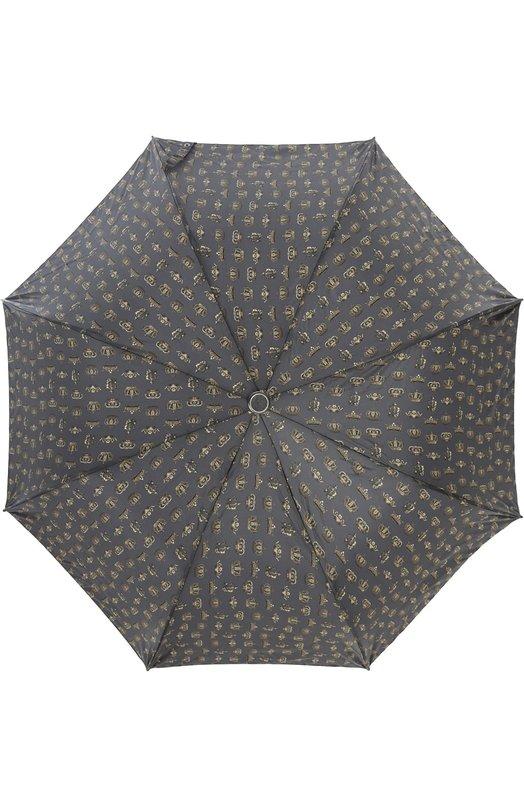 Зонт Dolce &amp; GabbanaЗонты<br><br><br>Пол: Мужской<br>Возраст: Взрослый<br>Размер производителя vendor: NS<br>Материал: Полиэстер: 100%;<br>Цвет: Темно-серый