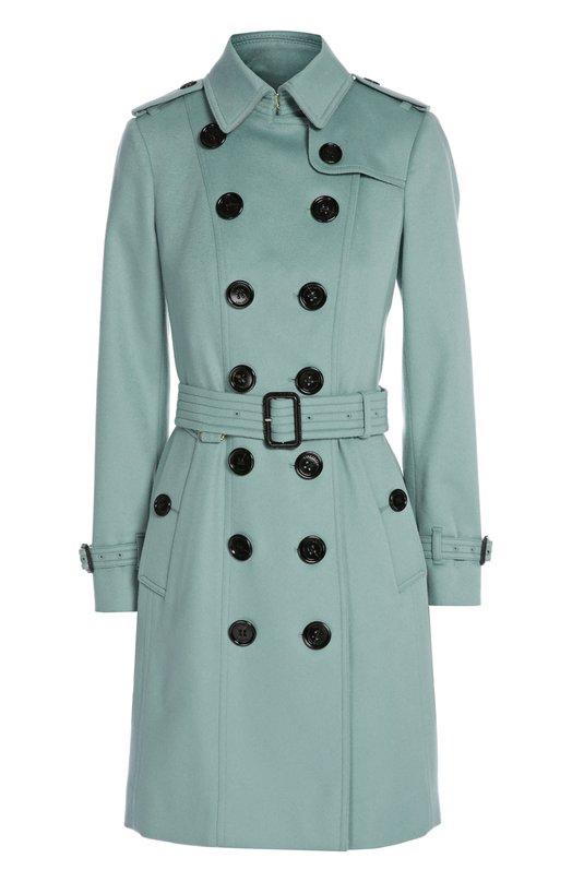 Пальто с поясом Burberry 3991825