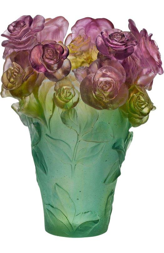 Ваза Rose Passion DaumВазы<br><br><br>Пол: Женский<br>Возраст: Взрослый<br>Размер производителя vendor: NS<br>Цвет: Бесцветный