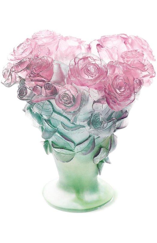 Ваза Roses DaumВазы<br><br><br>Пол: Женский<br>Возраст: Взрослый<br>Размер производителя vendor: NS<br>Цвет: Бесцветный