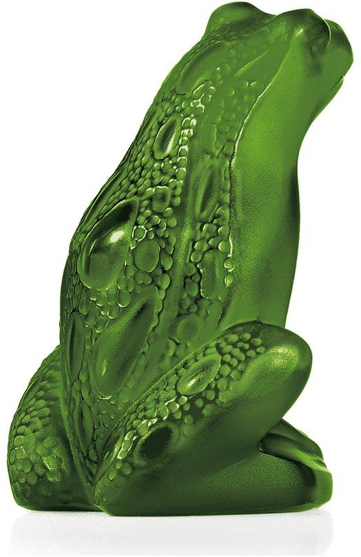 Фигурка Rainette Frog Lime green LaliqueСтатуэтки<br><br><br>Пол: Женский<br>Возраст: Взрослый<br>Размер производителя vendor: NS<br>Цвет: Бесцветный
