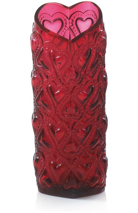Ваза Amour Heart LaliqueВазы<br><br><br>Пол: Женский<br>Возраст: Взрослый<br>Размер производителя vendor: NS<br>Цвет: Бесцветный