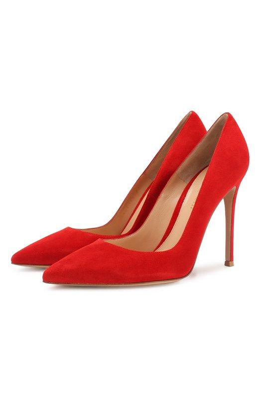 Купить Замшевые туфли Gianvito 105 на шпильке Rossi Италия 2167696 G28470/SUEDE