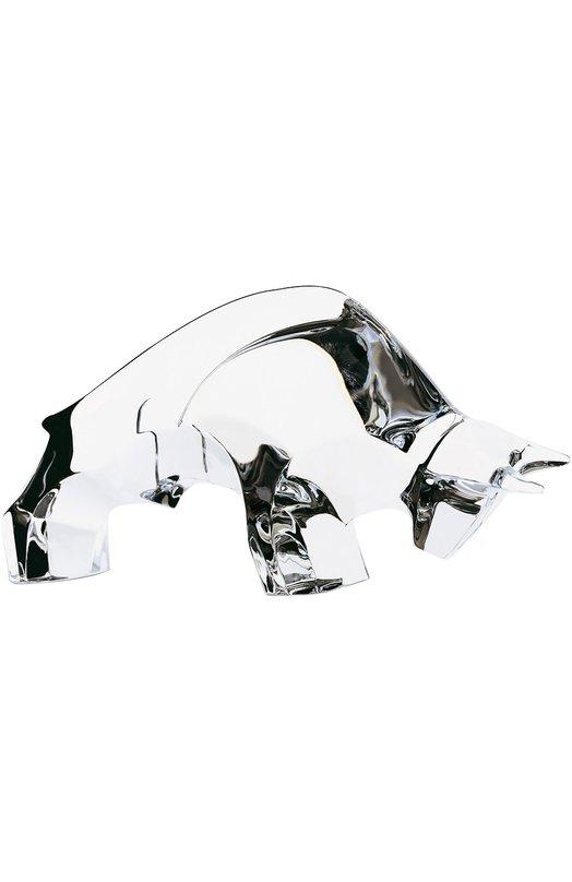 Скульптура Taureau BaccaratСтатуэтки<br><br><br>Пол: Женский<br>Возраст: Взрослый<br>Размер производителя vendor: NS<br>Цвет: Бесцветный