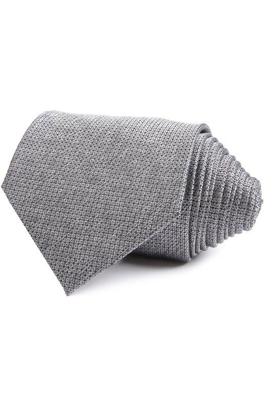 Галстук BrioniГалстуки<br>В коллекцию сезона весна-лето 2016 года вошел галстук с тканым паттерном, выполненный мастерами бренда из мягкого шелкового материала серого цвета. Нашим стилистам нравится сочетать с рубашкой белого цвета и однотонным костюмом.<br><br>Пол: Мужской<br>Возраст: Взрослый<br>Размер производителя vendor: NS<br>Материал: Шелк: 100%;<br>Цвет: Серый