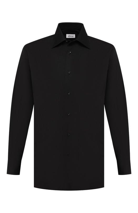 Купить Сорочка Brioni, RCL9/PZ004, Италия, Черный, Хлопок: 100%;