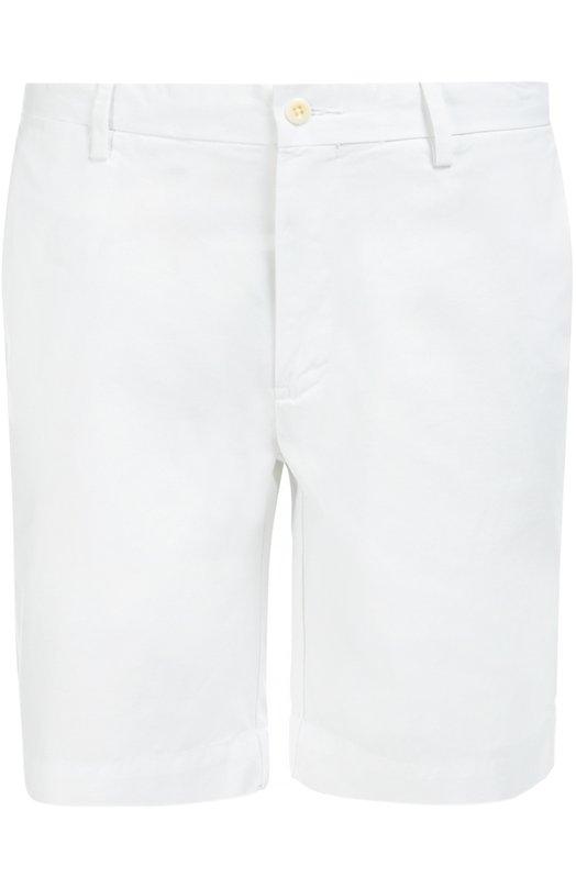 Хлопковые бермуды с карманами Polo Ralph Lauren A22/HS514/CR267