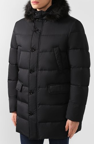 Куртка с капюшоном Moorer
