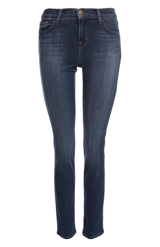Джинсы J BrandДжинсы<br>Узкие джинсы с классической посадкой на талии выполнены из комбинации вискозы, хлопка и лиоселла, что придает ткани эластичность и мягкость. Модель синего цвета вошла в весенне-летнюю коллекцию 2016 года.<br><br>Российский размер RU: 42<br>Пол: Женский<br>Возраст: Взрослый<br>Размер производителя vendor: 27<br>Материал: Полиэстер: 5%; Вискоза: 43%; Хлопок: 33%; Эластан: 2%; Лиоселл: 17%;<br>Цвет: Синий