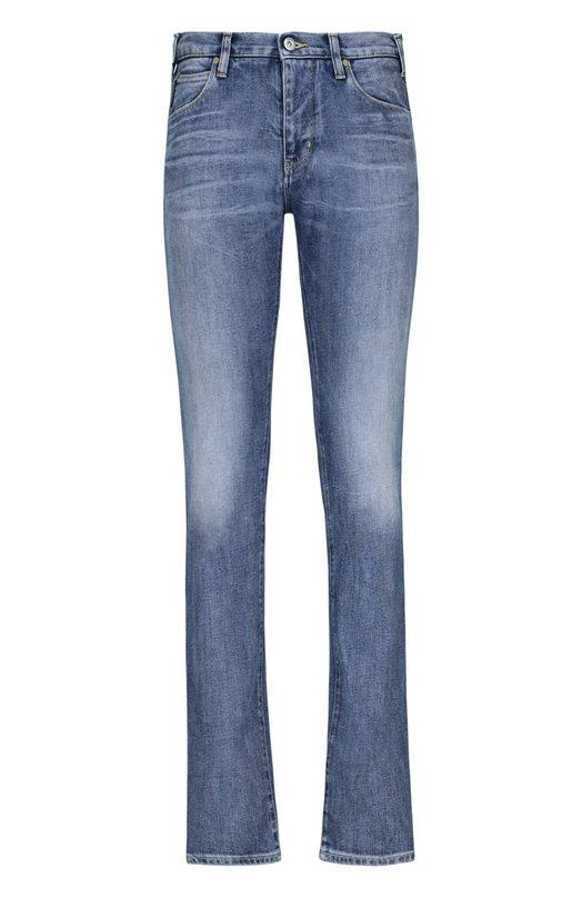 Джинсовые брюки Armani JeansДжинсы<br><br><br>Российский размер RU: 44<br>Пол: Мужской<br>Возраст: Взрослый<br>Размер производителя vendor: 29<br>Материал: Хлопок: 99%; Эластан: 1%;<br>Цвет: Синий