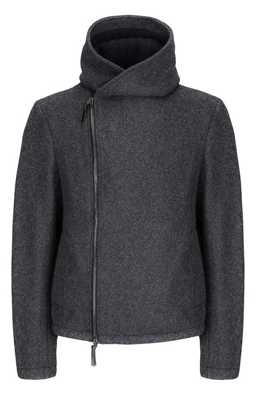 Куртка Giorgio ArmaniКуртки<br><br><br>Российский размер RU: 58<br>Пол: Мужской<br>Возраст: Взрослый<br>Размер производителя vendor: 58<br>Материал: Шерсть: 80%; Полиамид: 20%; Отделка-шерсть овечья: 100%;<br>Цвет: Светло-серый