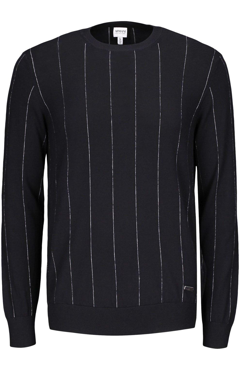 Вязаный пуловер черный с доставкой