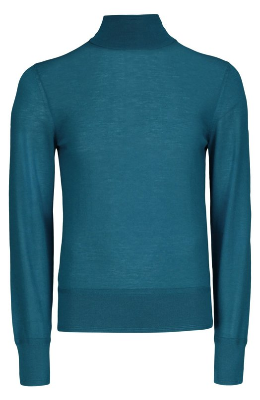 Вязаный пуловер Tom FordСвитеры<br><br><br>Российский размер RU: 50<br>Пол: Мужской<br>Возраст: Взрослый<br>Размер производителя vendor: 50<br>Материал: Кашемир: 100%;<br>Цвет: Морской волны