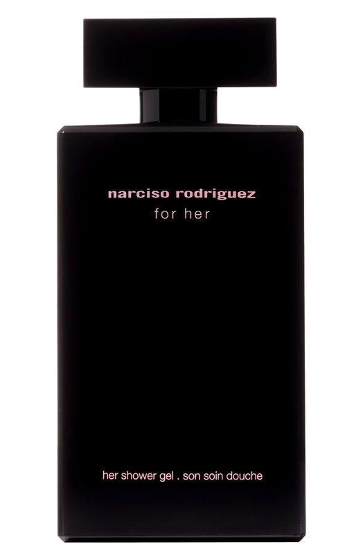 Гель для душа For Her Narciso RodriguezУвлажнение / Питание<br><br><br>Объем мл: 200<br>Пол: Женский<br>Возраст: Взрослый<br>Цвет: Бесцветный