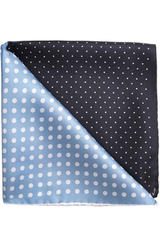 Платок LanvinПлатки<br>Прекрасный мужской платок из нежного натурального шелка прекрасного качества бордового оттенка. Такой аксессуар - стильная деталь успешного делового образа.<br><br>Пол: Мужской<br>Возраст: Взрослый<br>Размер производителя vendor: NS<br>Материал: Шелк: 100%;<br>Цвет: Темно-синий