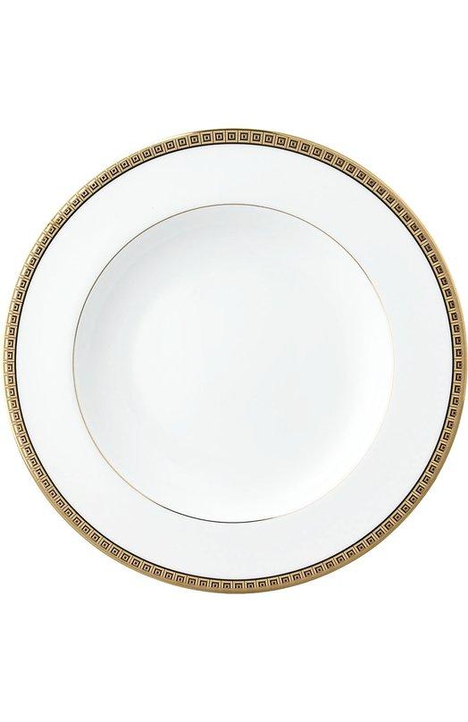 Тарелка глубокая Athena Gold BernardaudСервировка<br><br><br>Пол: Женский<br>Возраст: Взрослый<br>Размер производителя vendor: NS<br>Цвет: Бесцветный