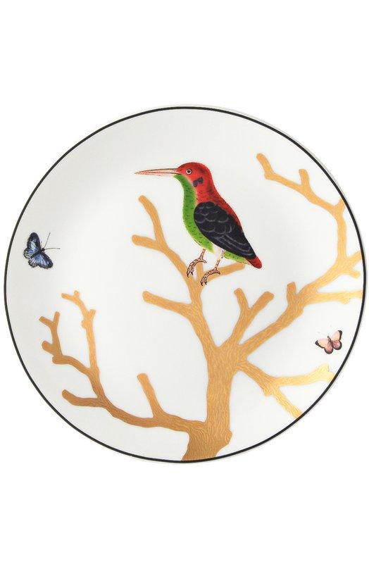 Тарелка Aux Oiseaux BernardaudСервировка<br><br><br>Пол: Женский<br>Возраст: Взрослый<br>Размер производителя vendor: NS<br>Цвет: Бесцветный