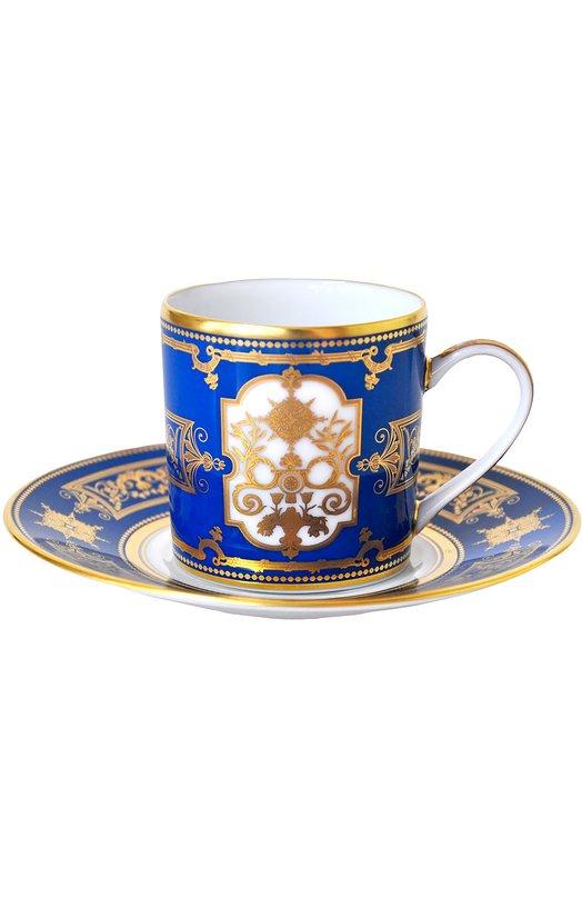 Кофейная чашка Aux Rois BernardaudСервировка<br><br><br>Пол: Женский<br>Возраст: Взрослый<br>Размер производителя vendor: NS<br>Цвет: Бесцветный
