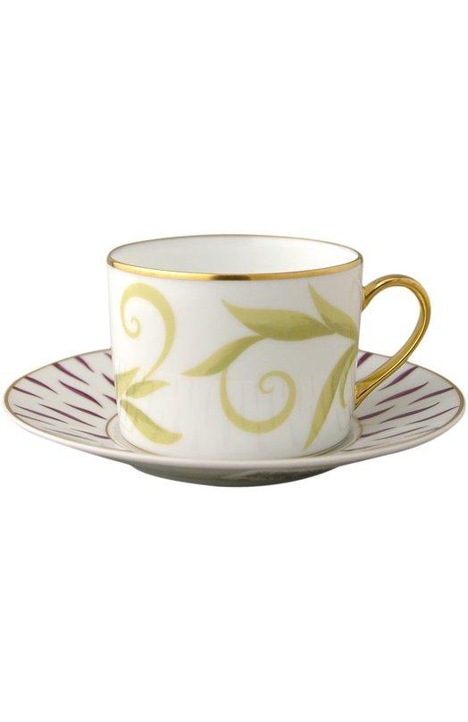 Чайная чашка Frivole BernardaudСервировка<br><br><br>Пол: Женский<br>Возраст: Взрослый<br>Размер производителя vendor: NS<br>Цвет: Бесцветный