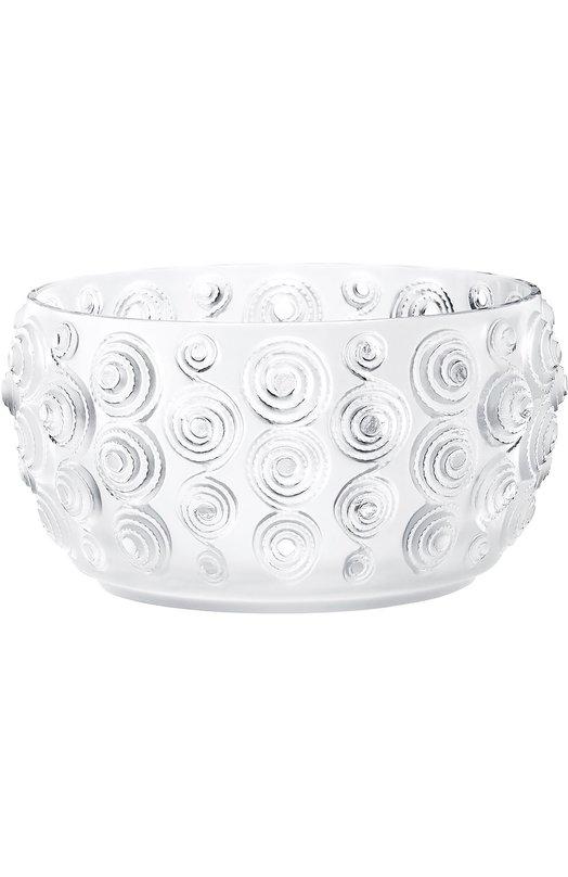 Ваза для фруктов Spirales LaliqueВазы<br><br><br>Пол: Женский<br>Возраст: Взрослый<br>Размер производителя vendor: NS<br>Цвет: Бесцветный