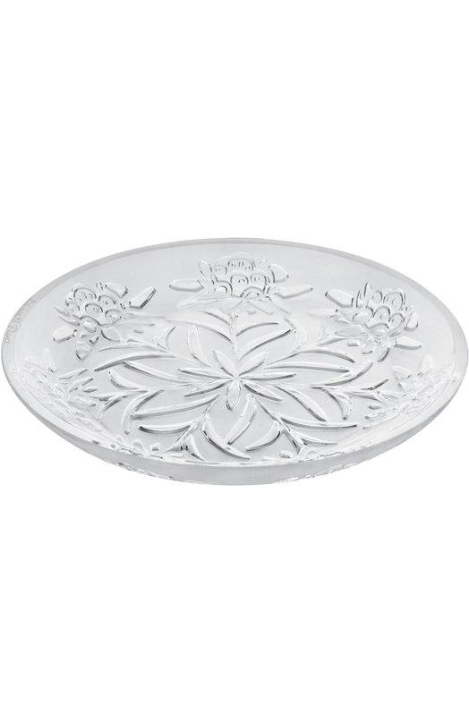 Ваза для фруктов Edelweiss LaliqueВазы<br><br><br>Пол: Женский<br>Возраст: Взрослый<br>Размер производителя vendor: NS<br>Цвет: Бесцветный