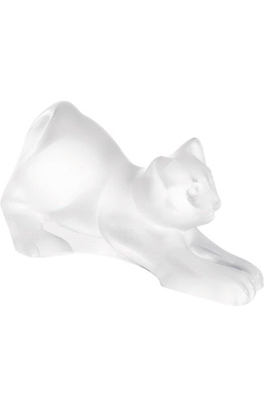 Скульптура Coaxing Kitten LaliqueСкульптуры<br><br><br>Пол: Женский<br>Возраст: Взрослый<br>Размер производителя vendor: NS<br>Цвет: Бесцветный