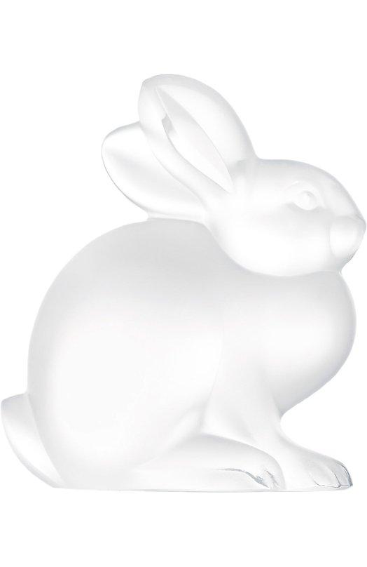 Скульптура Sitting Rabbit LaliqueСкульптуры<br><br><br>Пол: Женский<br>Возраст: Взрослый<br>Размер производителя vendor: NS<br>Цвет: Бесцветный