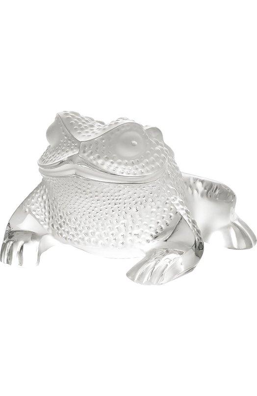 Скульптура Gregoire Toad LaliqueСкульптуры<br><br><br>Пол: Женский<br>Возраст: Взрослый<br>Размер производителя vendor: NS<br>Цвет: Бесцветный
