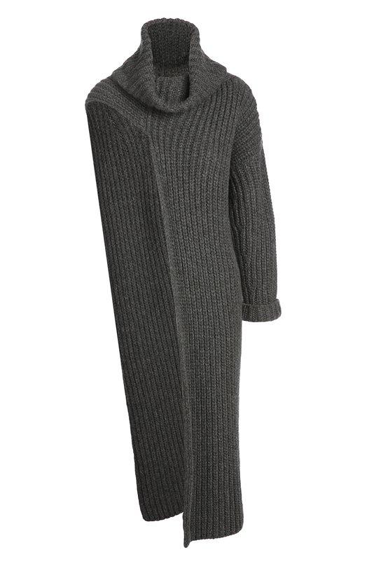 Вязаное платье Stella McCartneyПлатья<br><br><br>Российский размер RU: 40<br>Пол: Женский<br>Возраст: Взрослый<br>Размер производителя vendor: 38<br>Материал: Шерсть: 78%; Полиамид: 22%;<br>Цвет: Серый