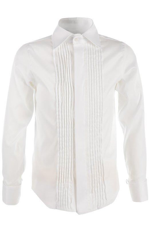 Купить N427/7537/4-6, Рубашка Dal Lago, Италия, Белый, Хлопок: 78%; Эластан: 3%; Полиамид: 19%;, Мужской, Рубашки