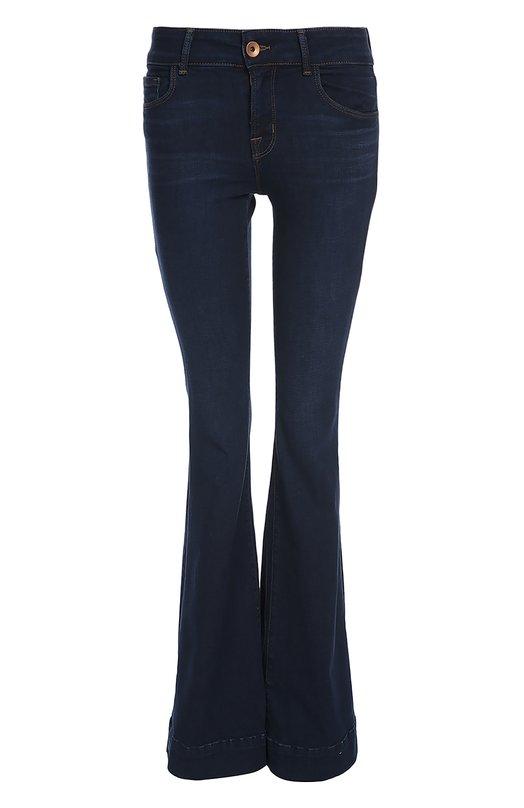 Джинсы J BrandДжинсы<br>Дизайнеры марки включили темно-синие джинсы bootcut в коллекцию сезона весна-лето 2016 года. Для производства модели с классической посадкой на талии мастера бренда использовали плотный эластичный хлопок.<br><br>Российский размер RU: 42<br>Пол: Женский<br>Возраст: Взрослый<br>Размер производителя vendor: 26<br>Материал: Хлопок: 89%; Полиэстер: 8%; Эластан: 3%;<br>Цвет: Темно-синий