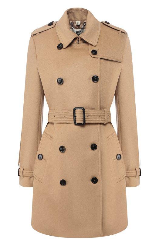 Пальто с поясом Burberry 3929740